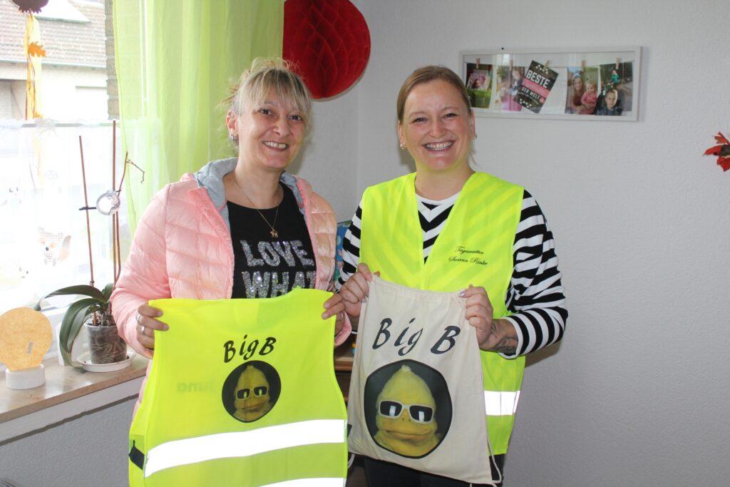 Pressemeldung 01.09.2020 - BigB-Warnwesten sorgen für beste Kinder-Sichtbarkeit in Beckum